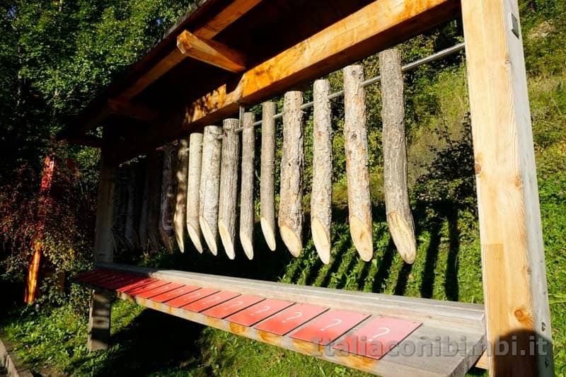 Giardini Trauttmansdorff di Merano - riconoscere il legno