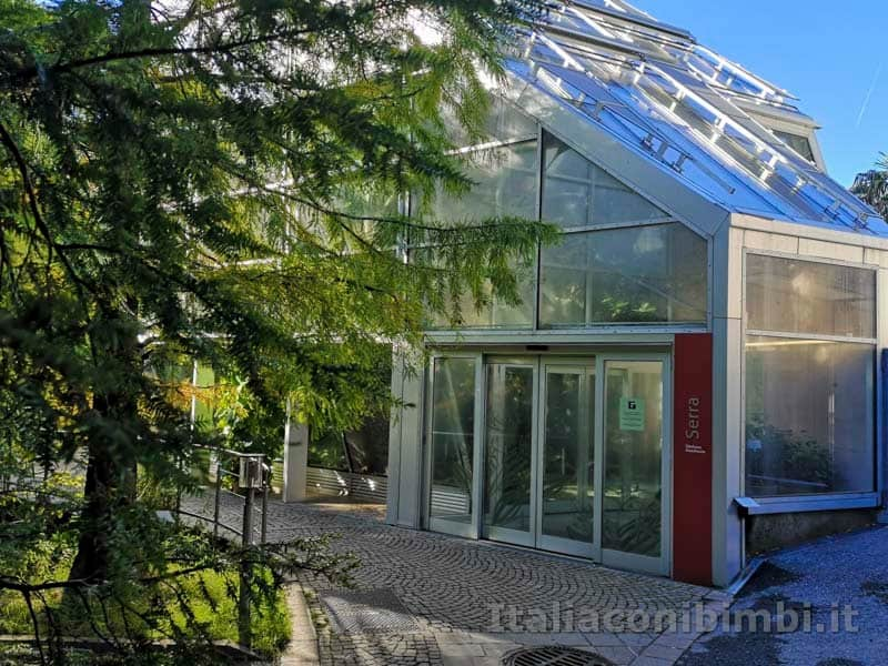 Giardini Trauttmansdorff di Merano - serra