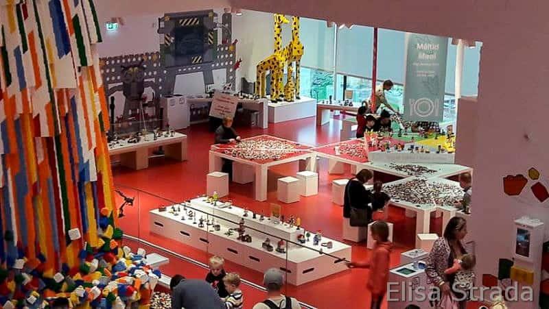 Lego House Billund- interno