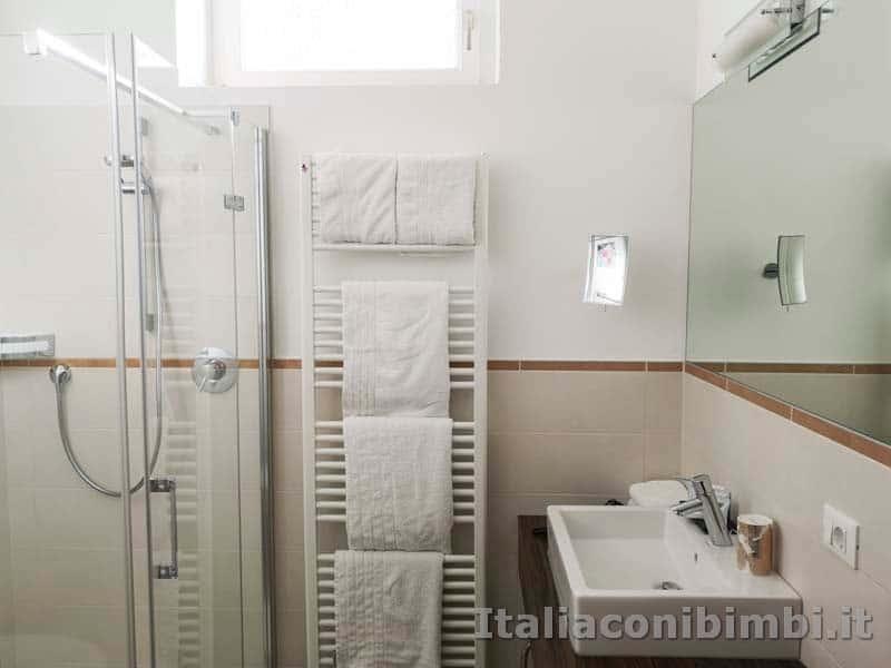 Merano - bagno del Residence Diana