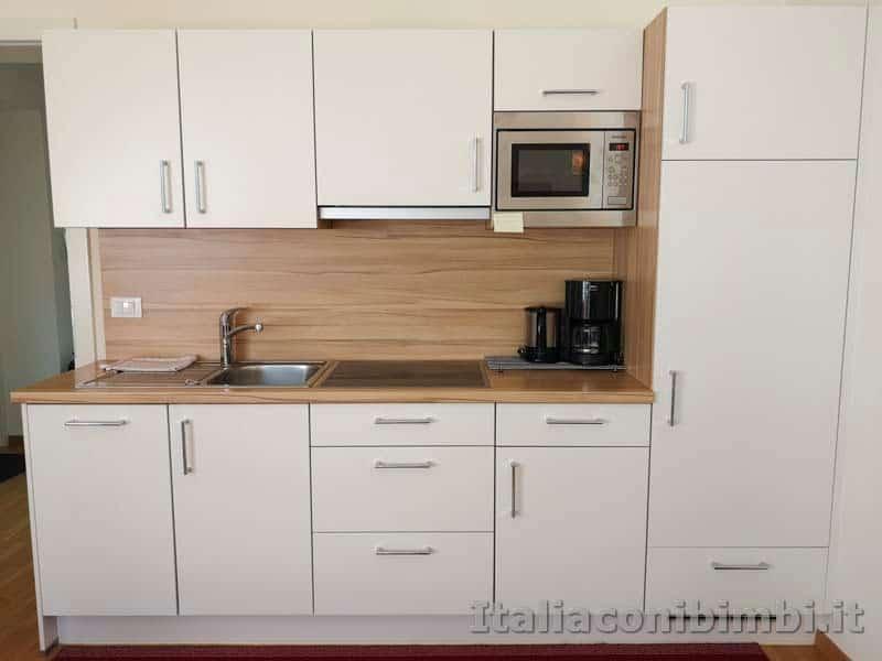 Merano - cucina del Residence Diana