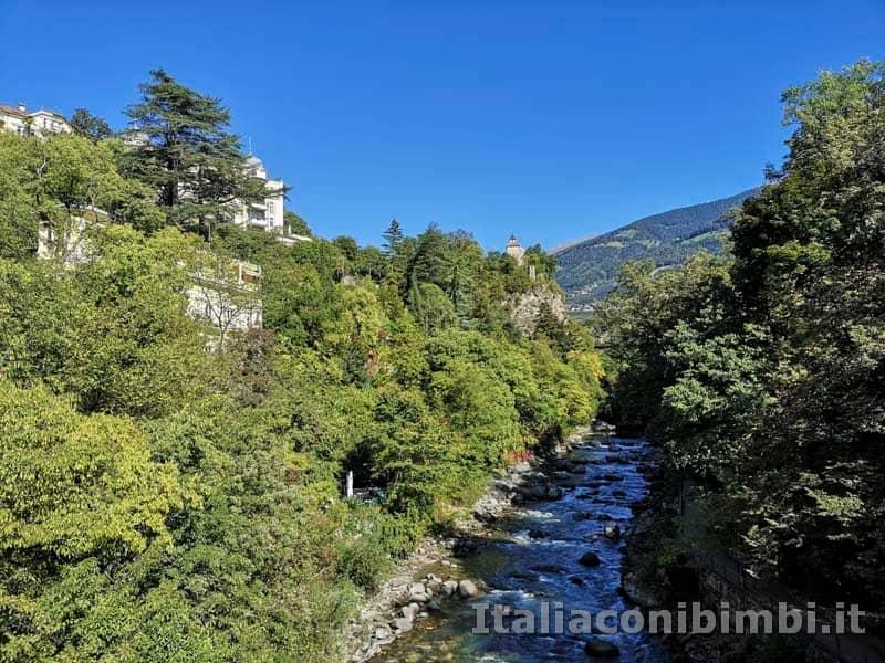 Merano- passeggiata del fiume Passirio