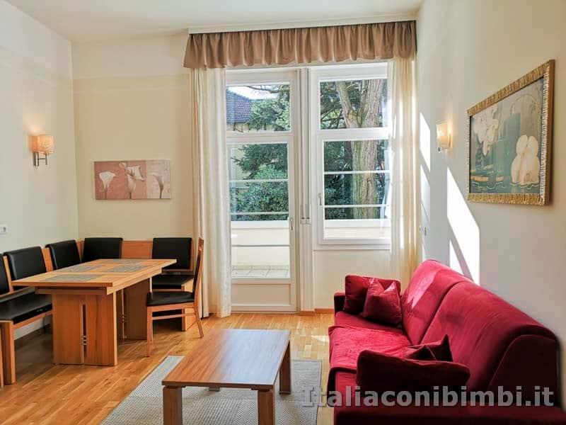 Merano - soggiorno del Residence Diana