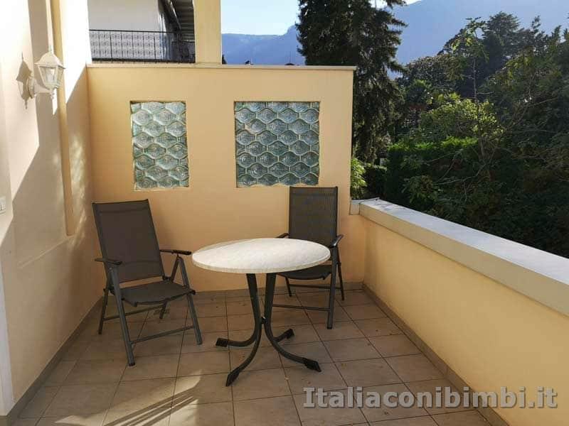 Merano - terrazzino del Residence Diana