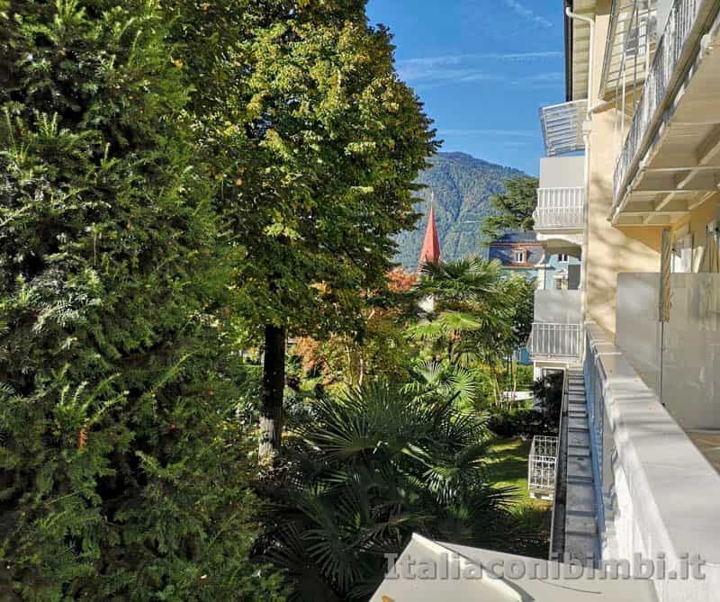 Merano - vista dal terrazzino del Residence Diana