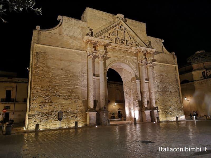 Porta Napoli a Lecce.