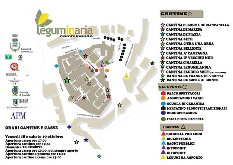 mappa Leguminaria