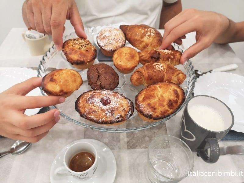 pasticciotti leccesi colazione BeB casa di Anita