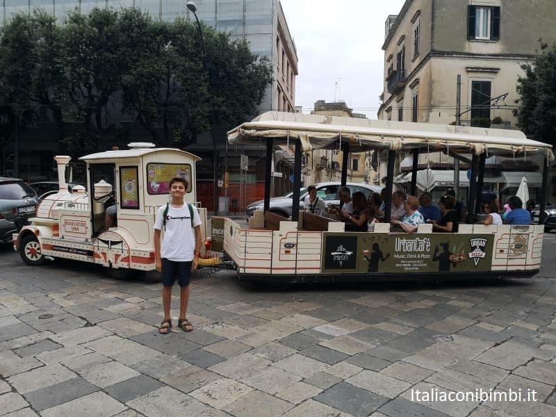 trenino turistico di Lecce