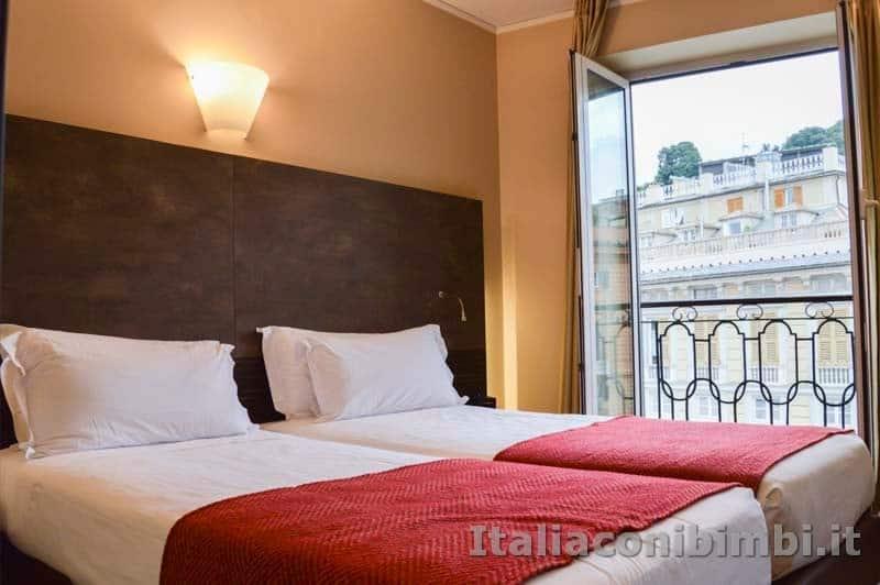 Genova - Camera da letto Hotel Metropoli