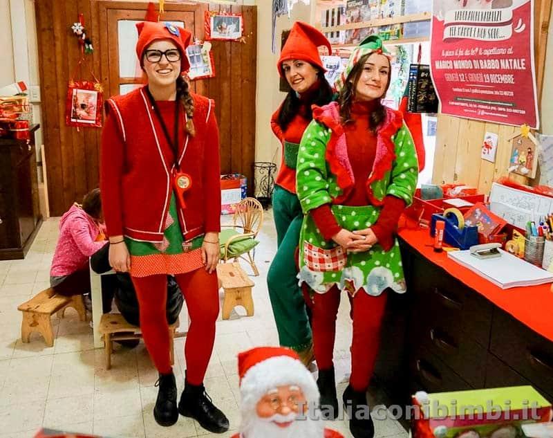 Magico Mondo di Babbo Natale - elfe al laboratorio creativo