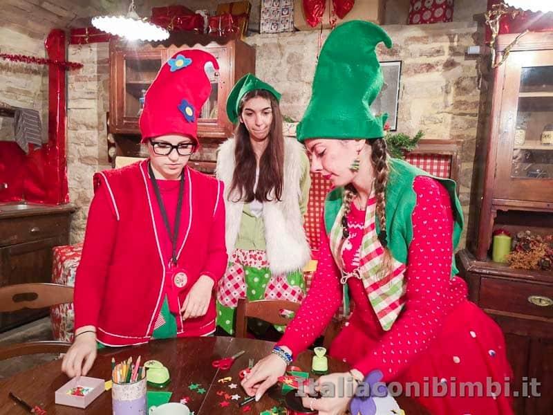 Magico Mondo di Babbo Natale - elfe creative