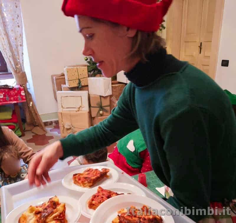 Magico Mondo di Babbo Natale - lasagne