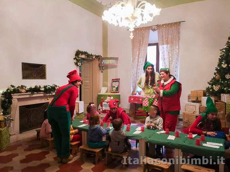 Magico Mondo di Babbo Natale - pranzo dei bambini