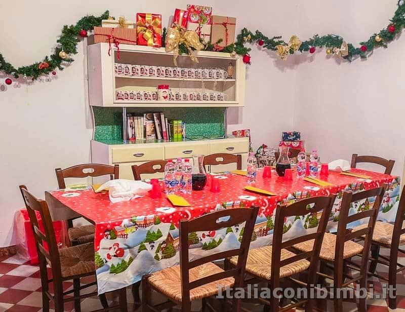 Magico Mondo di Babbo Natale - tavolo genitori