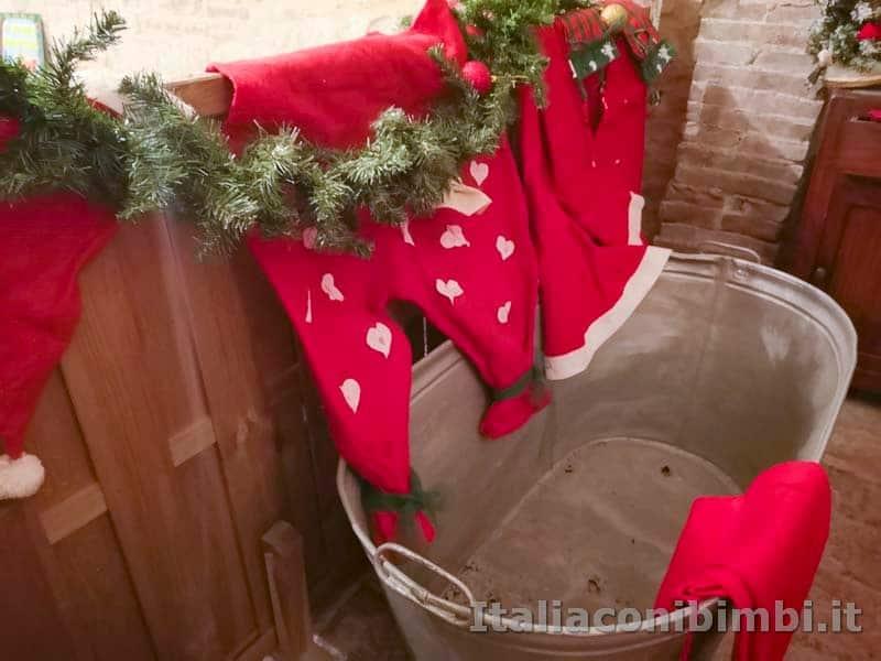 Magico Mondo di Babbo Natale - vasca da bagno di Babbo Natale