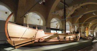 Museo delle navi di Pisa - antica imbarcazione