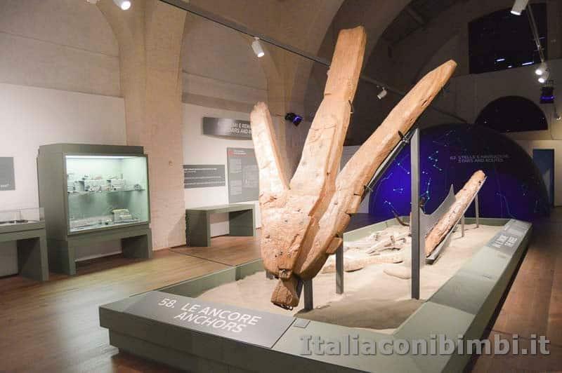 Museo-delle-navi-di-Pisa-antiche-ancore