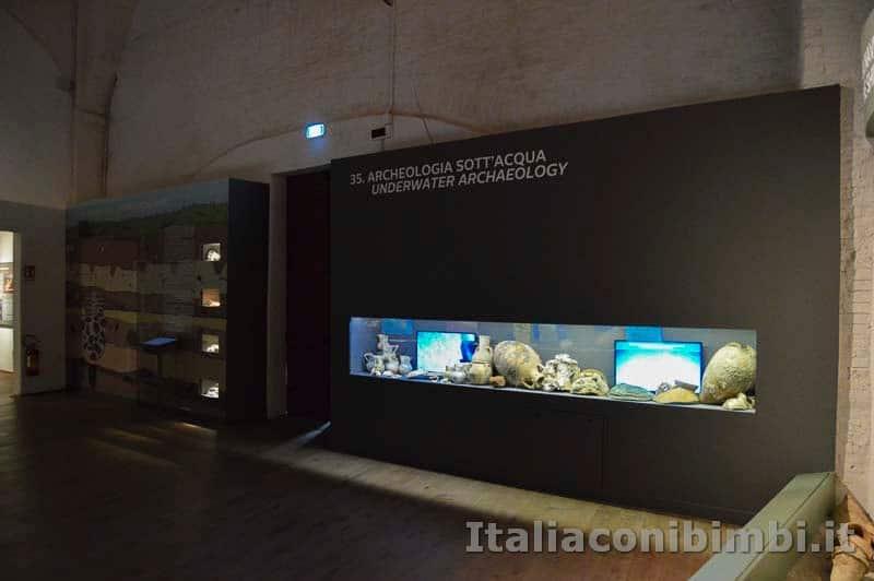 Museo delle navi di Pisa - archeologia sott'acqua