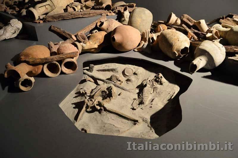 Museo-delle-navi-di-Pisa-fossili-e-anfore