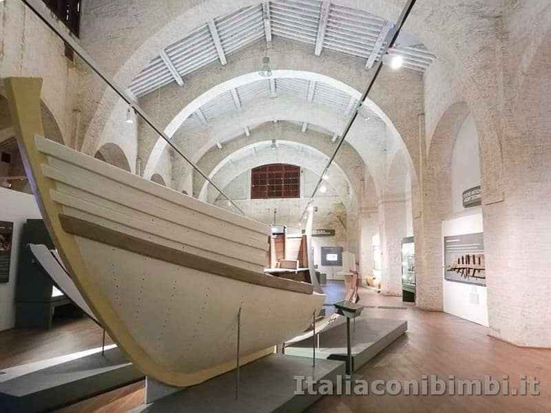 Museo delle navi di Pisa - nave