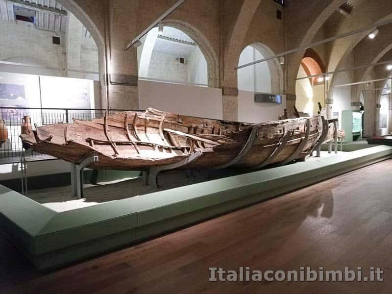 Museo delle navi di Pisa - resti di una nave