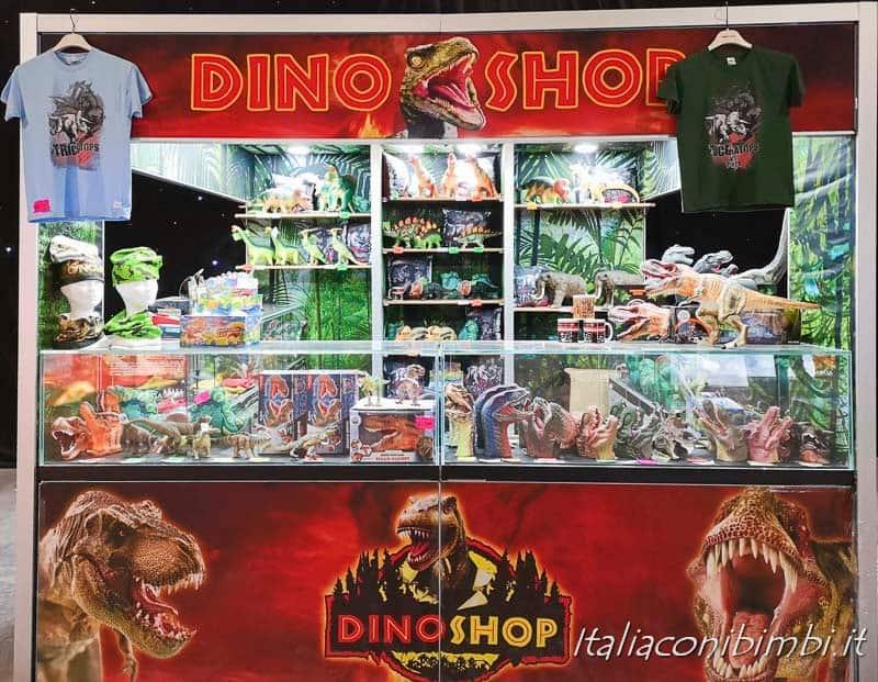 Living Dinosaurs Mostra dei dinosauri Roma - dino shop
