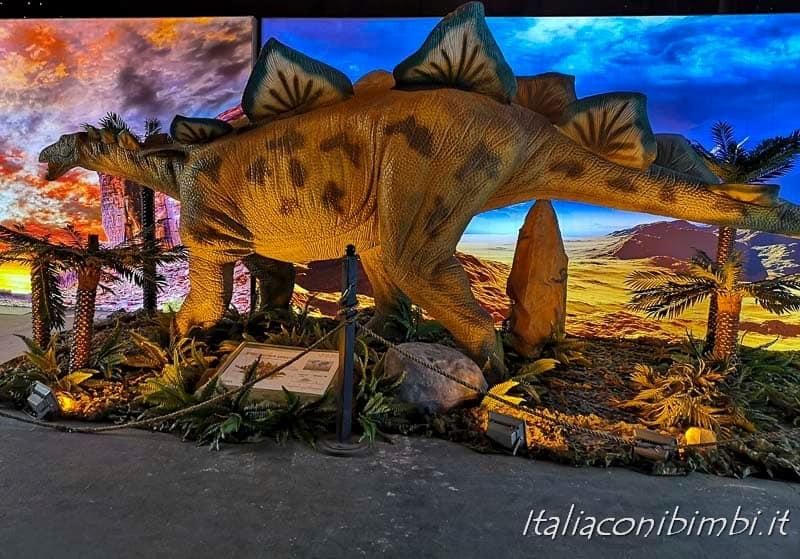 Living Dinosaurs Mostra dei dinosauri Roma - dinosauro ultima sala