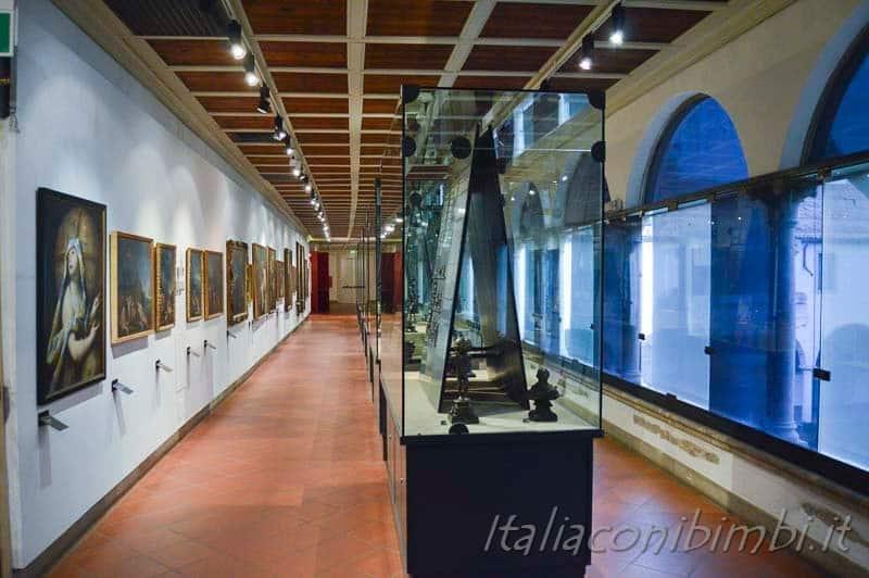 Padova - Musei Civici Eremitani corridoi