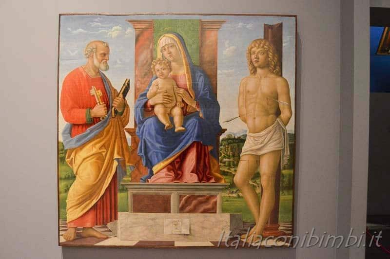 Padova - Musei Eremitani dipinto
