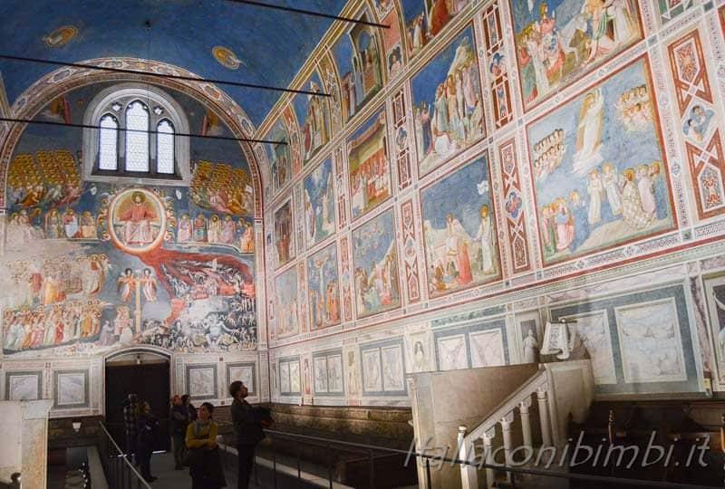 Padova - cappella degli Scrovegni interni