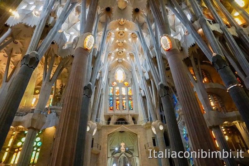 Sagrada Familia - navata