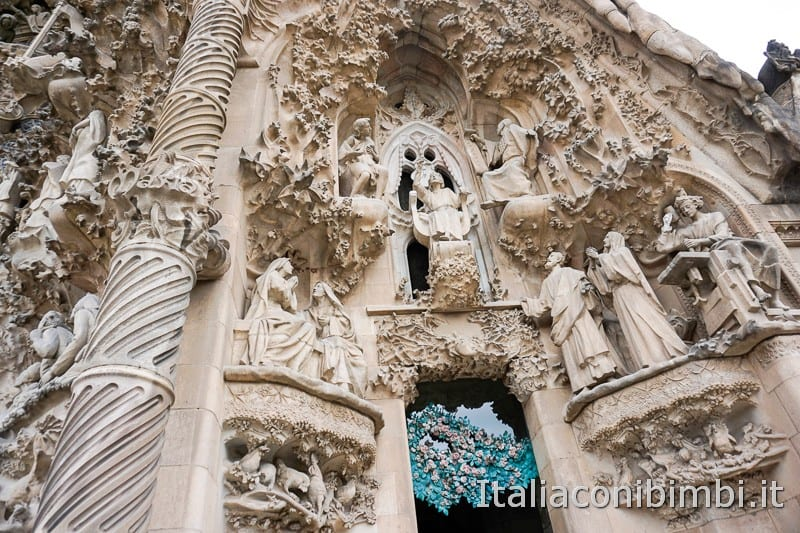 Sagrada Familia - porta