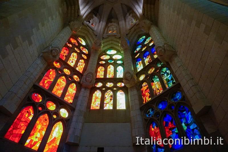 Sagrada Familia - vetrate colorate