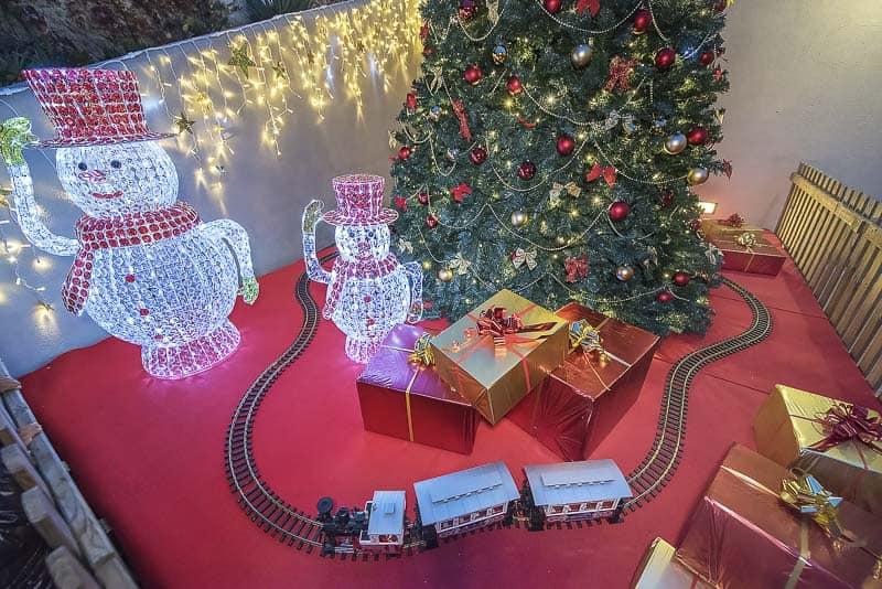 Villaggio di Natale di Finale Ligure - trenino