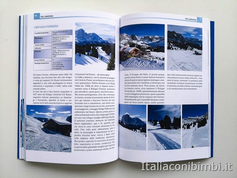 Babytrekking sulla neve - Val Gardena paragrafo
