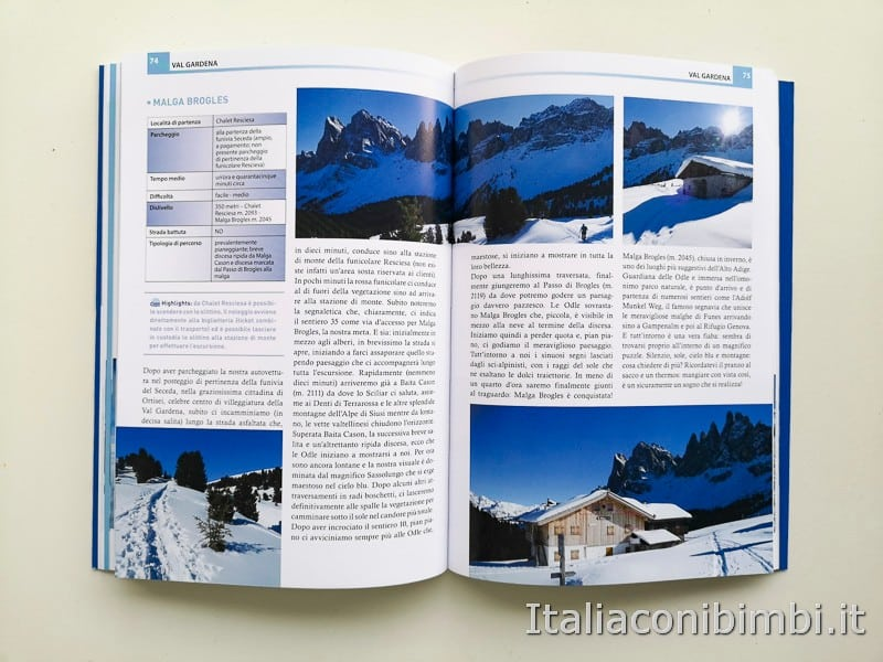 Babytrekking sulla neve - Val Gardena