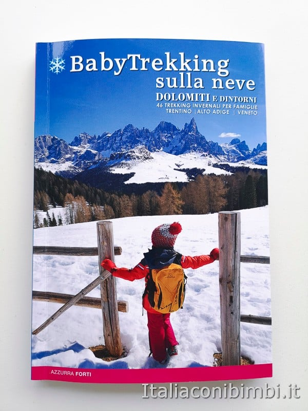 Babytrekking sulla neve - copertina libro nuovo