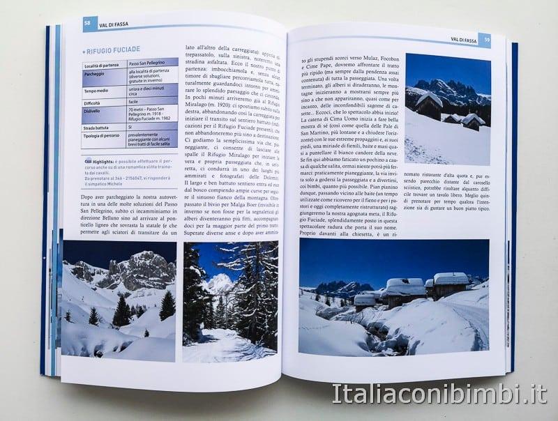 Babytrekking sulla neve - paragrafo Val di Fassa