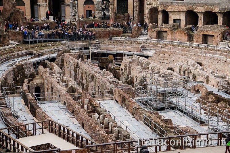 Colosseo - piano terra
