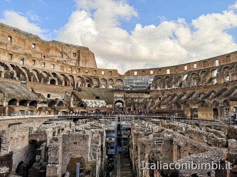 Colosseo - vista dal piano terra