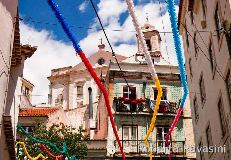 Lisbona - quartiere Alfama