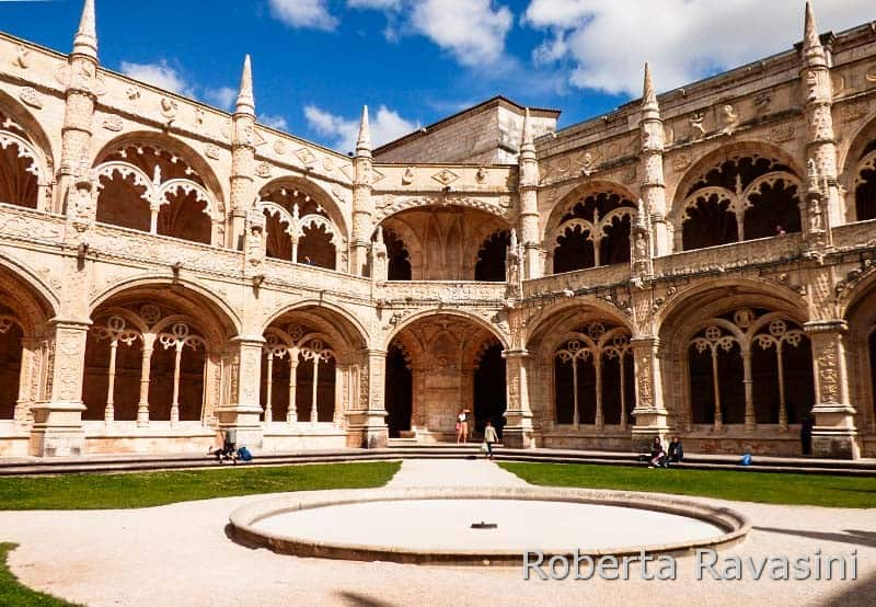 Lisbona -Monastero dos Jeronimos