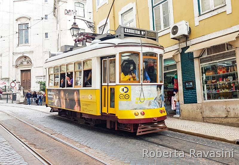 Lisbona -Tram 28