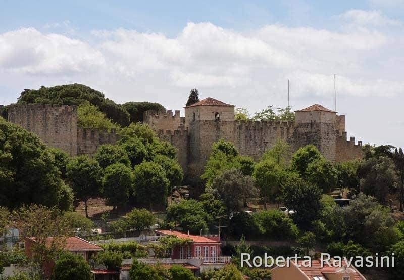 Castello di San Giorgio di Lisbona