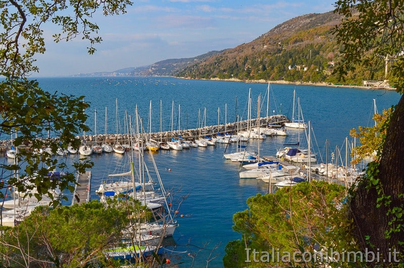 Trieste- baia di Grignano