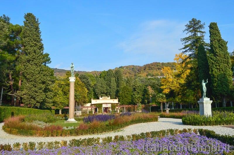 Trieste- parco del Castello di Miramare