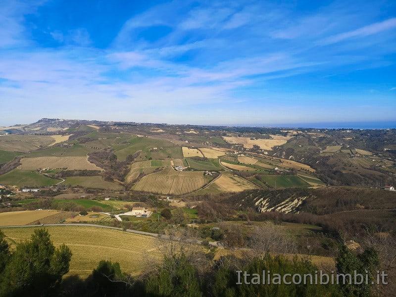 Acquaviva Picena - Panorama dalla Rocca
