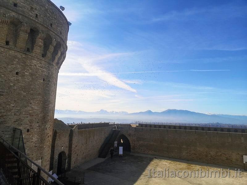 Acquaviva Picena - il mastio della Rocca