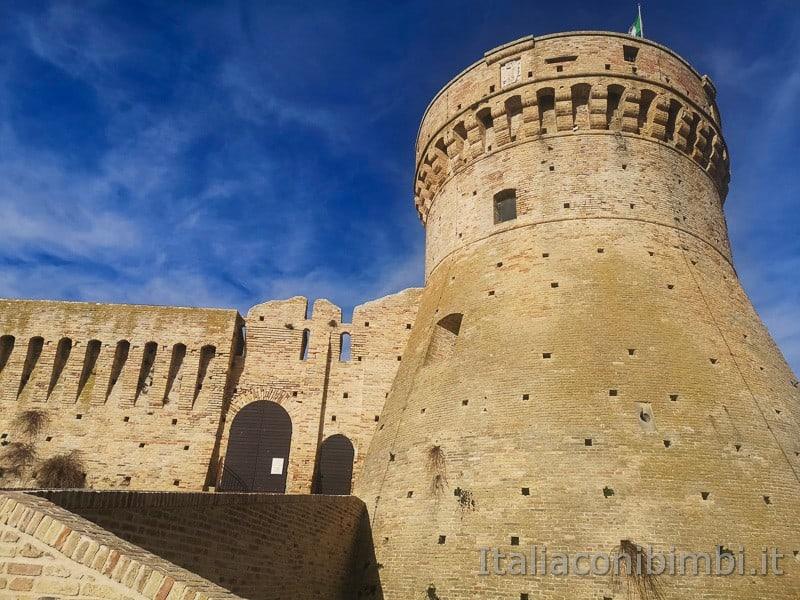 Acquaviva Picena - mastio della fortezza